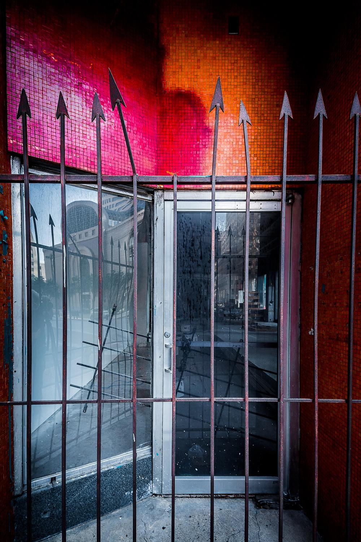 Mosaic Behind Bars