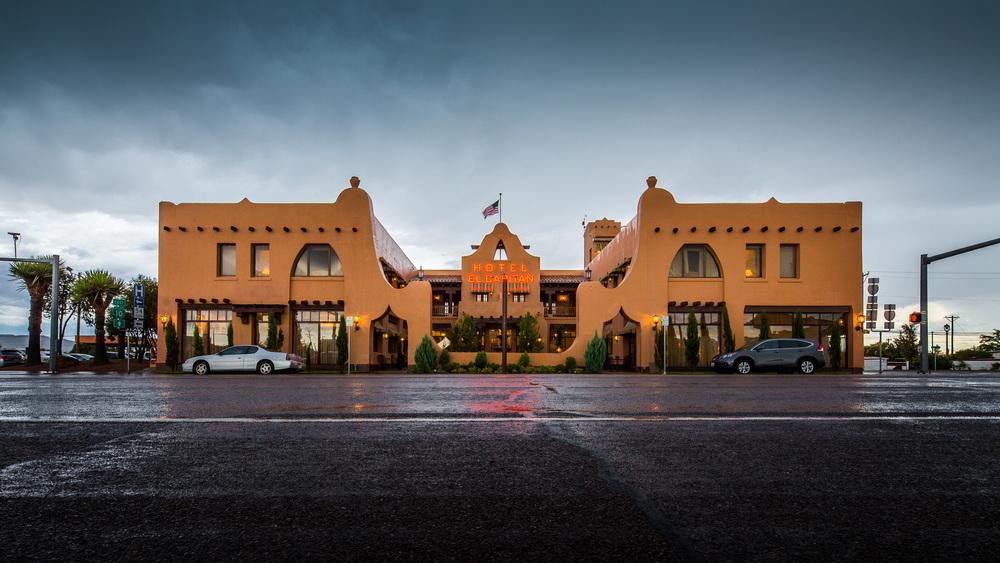 Hotel El Capitan in Van Horn, Texas