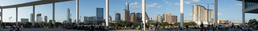 Long Center Skyline Panorama #1