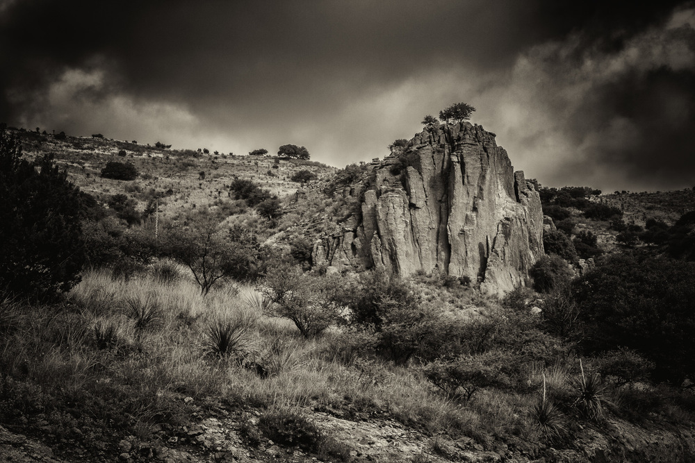 Fort Davis State Park - Outcropping