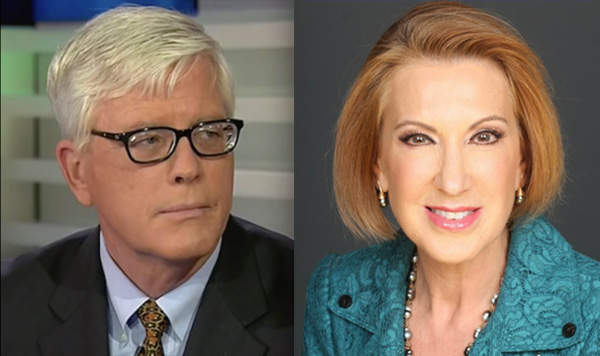 Hugh Hewitt and Carly Fiorina