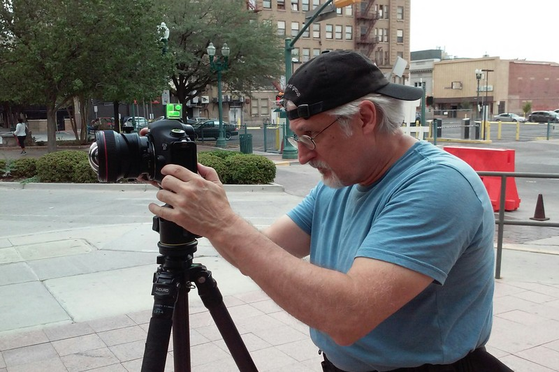 Shooting in downtown El Paso, 2014. Photo by Elida S. Perez/Newspaper Tree