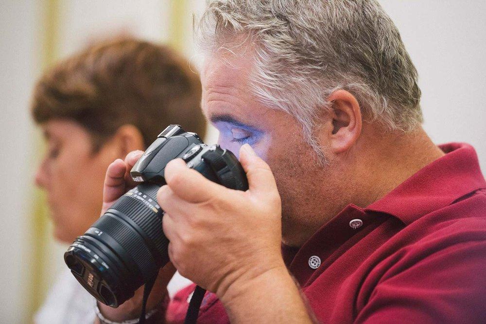 Cámara Lúcida: Curso de fotografía para personas ciegas en Las Palmas de Gran Canaria