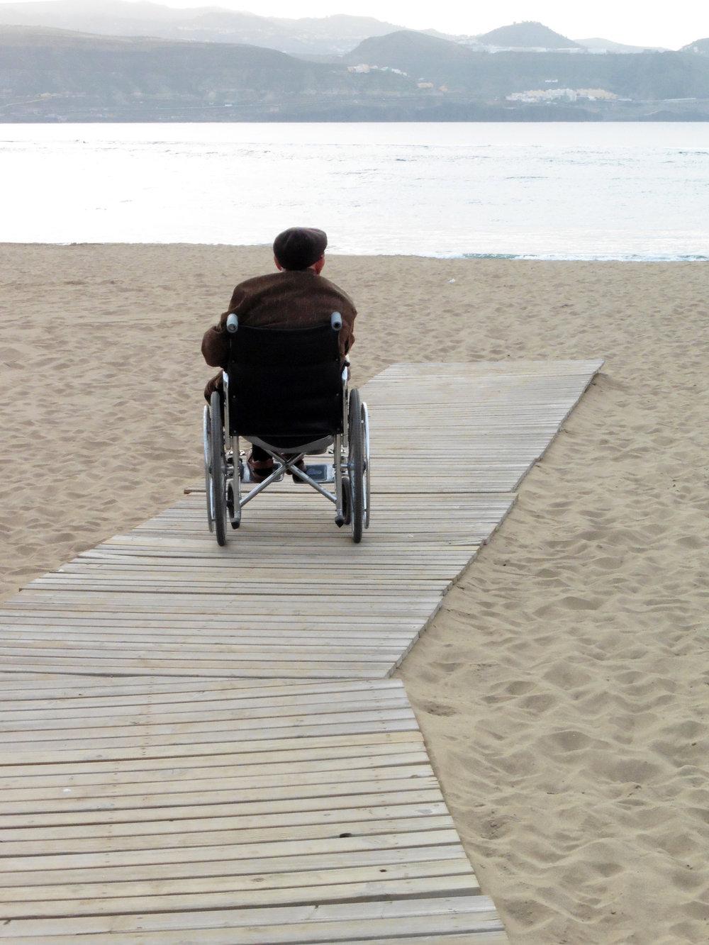 Foto realizada por Francisco González (discapacitado visual grave) durante el Proyecto Cámara Lúcida; un curso de fotografía para personas ciegas en Las Palmas de Gran Canaria.