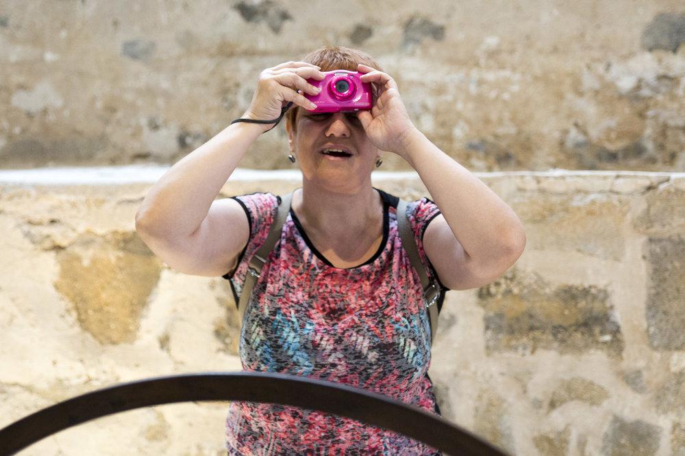 Cámara Lúcida: Curso de fotografía para personas ciegas en Gran Canaria de la mano de Tomás Correa