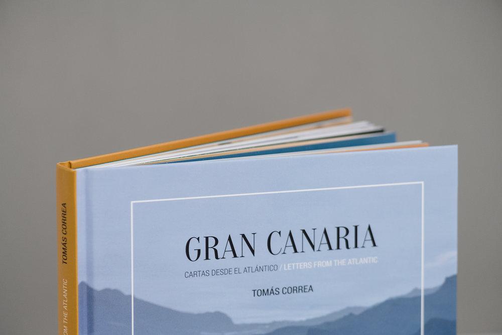 Libro de fotografías «Gran Canaria. Cartas desde el Atlántico» de Tomás Correa