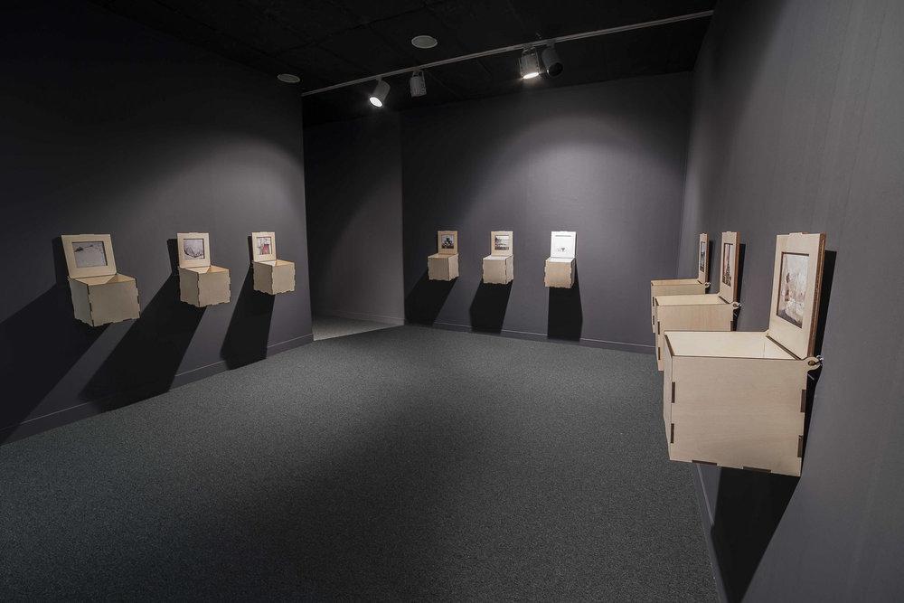 """Exposición """"Encuentros, ausencias y elixires"""". Foto: Gustavo Martín"""