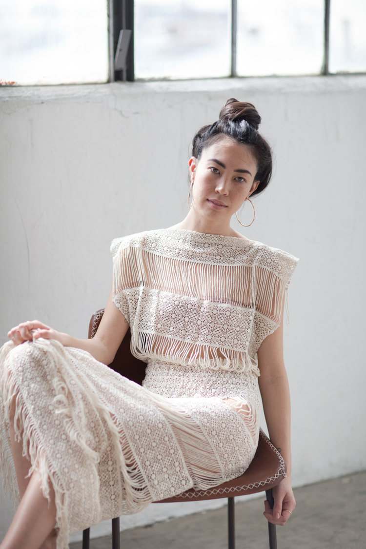 Pair an Edwardian lace dress with a simple bun and delicate jewerly to make the look more casual and wearable