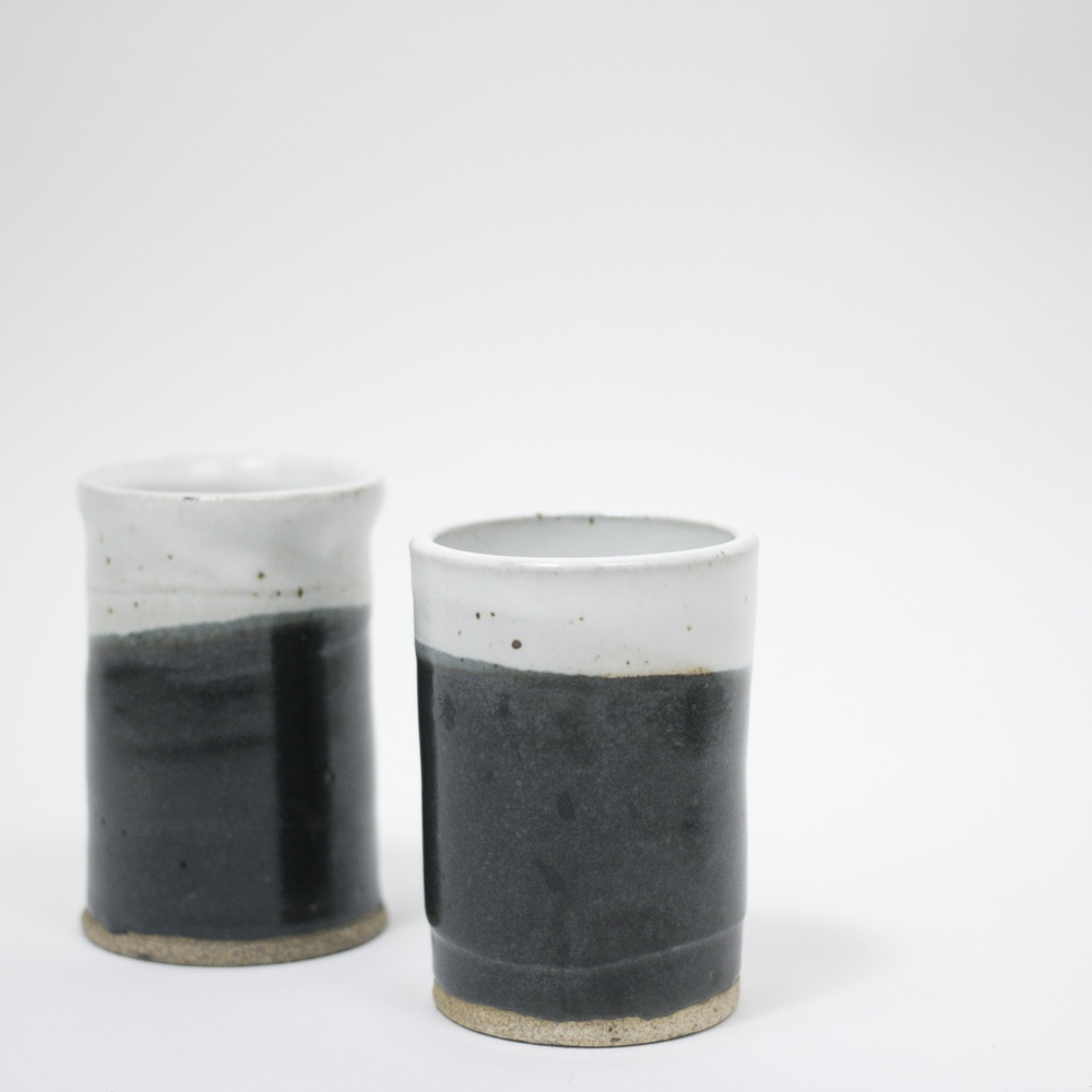 TWO CERAMIC CUPS (39-) are just perfect.