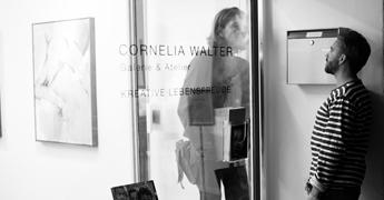 Impressions Galerie Cornelia Walter Paintuition Meet & Greet