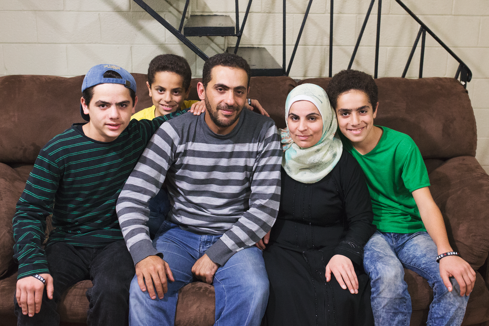 Family refugee project-syrians-in-america