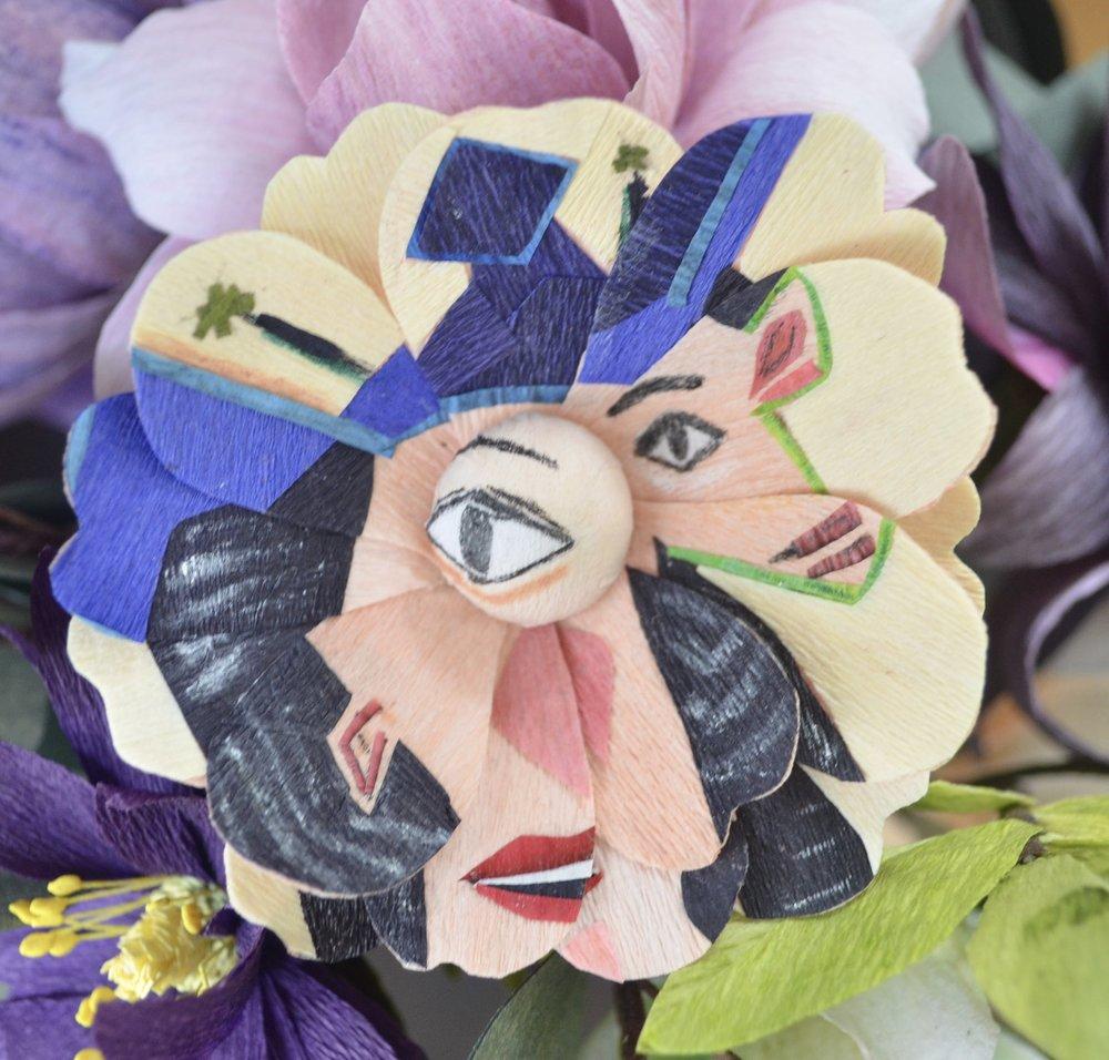 Picasso inspired Anemone - Dora Maar