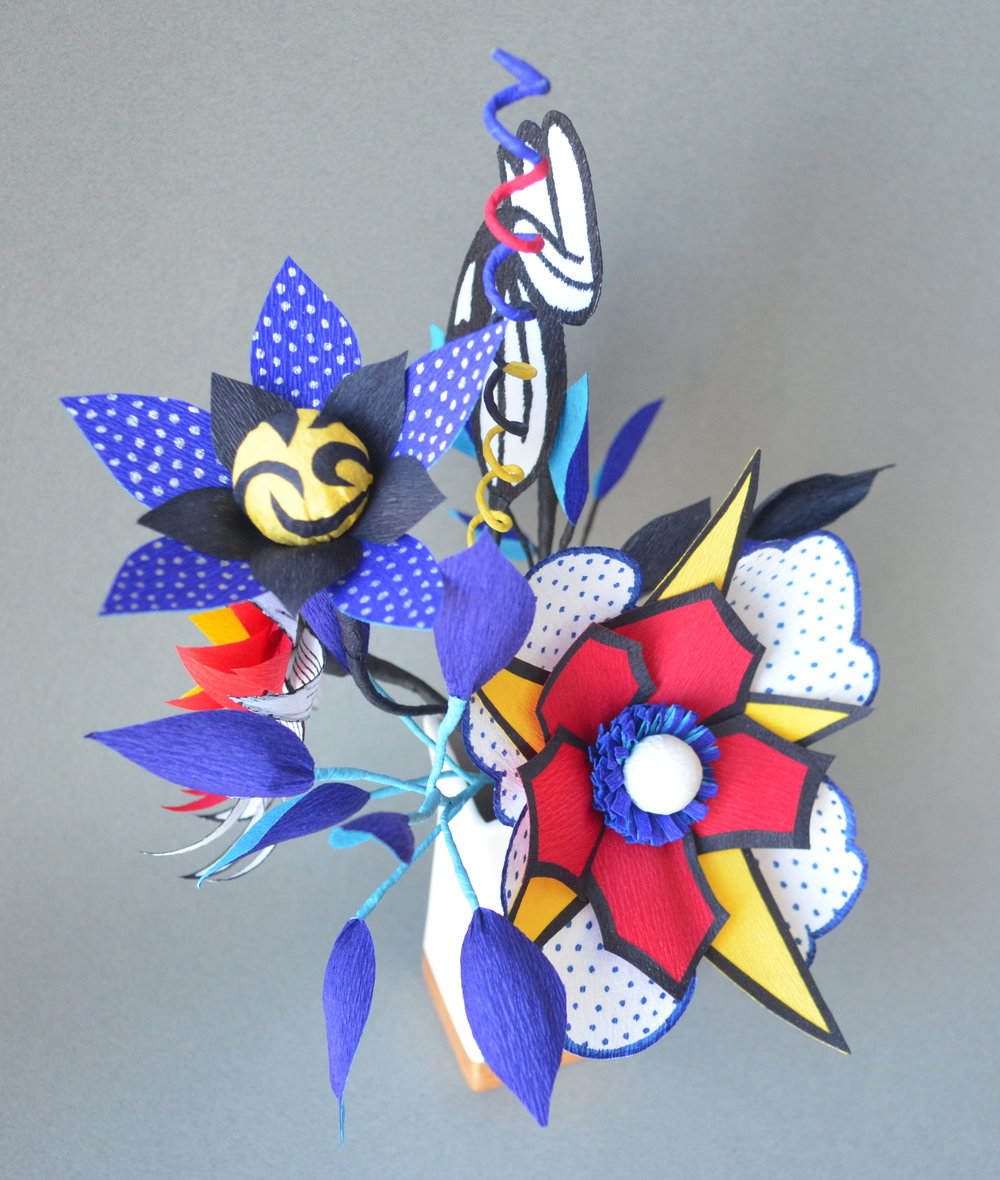 Lichtenstein Paper Arrangement