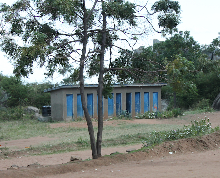 Toilets and latrines, not so common in poverty-stricken areas