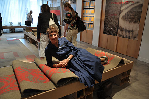 Suzanne Tick at Tandus