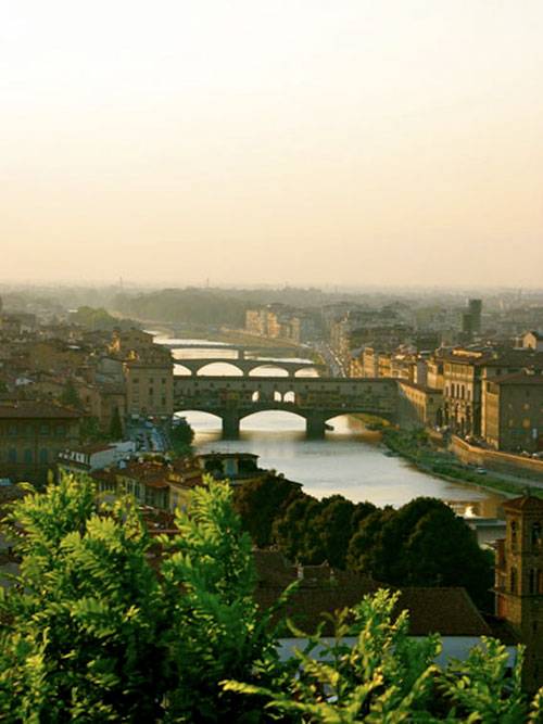Ponte Vecchio and the Arno, Florence
