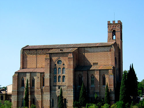 Church of San Domenico, Siena