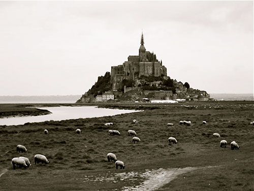 Mont St-Michel, Normandy