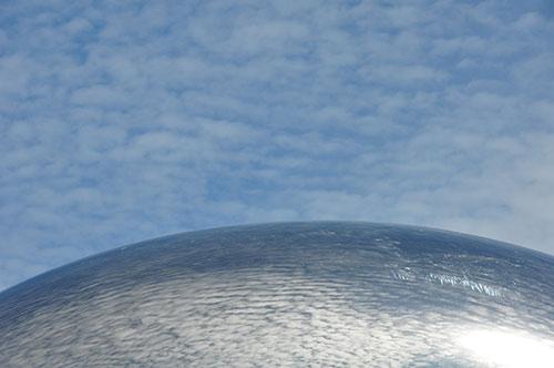 """Anish Kapoor's """"Cloud Gate"""" at Millennium Park"""