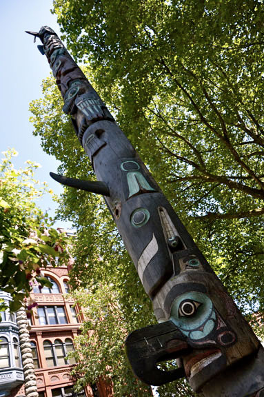 Totem poles continued