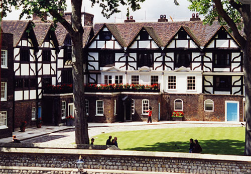 """The """"Queen's House"""" at Tower of London"""