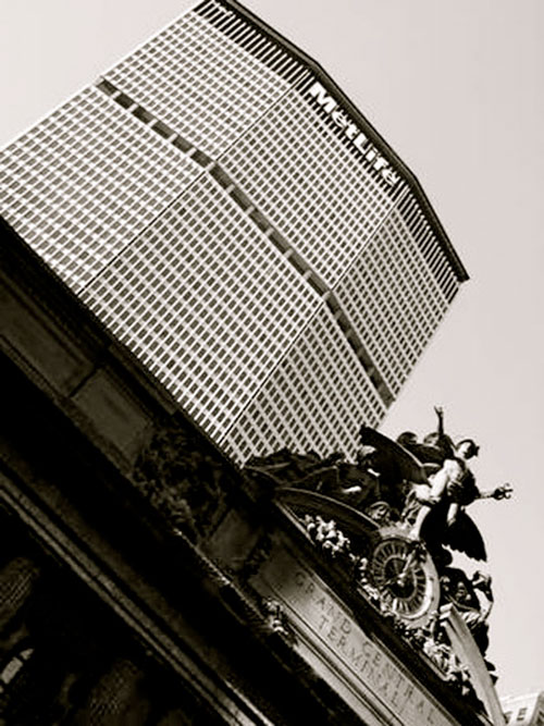 Grand Central Terminal and Metlife Building