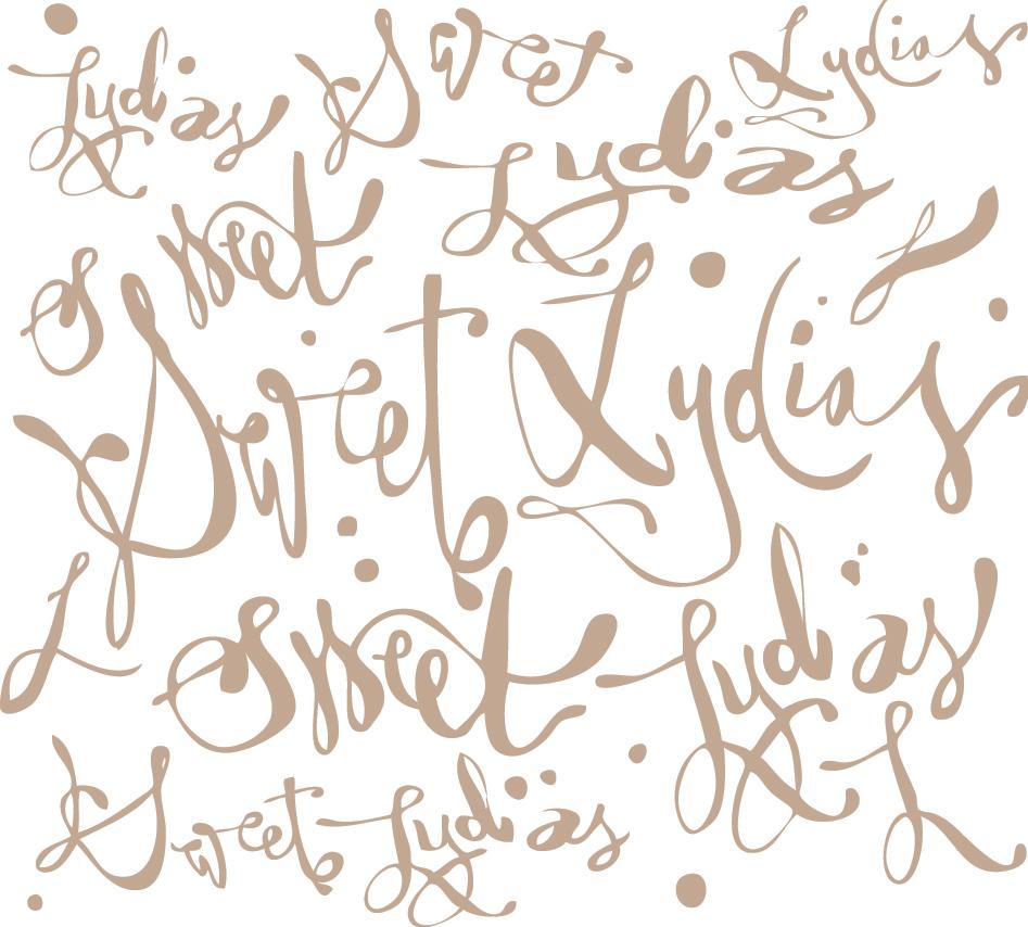 Sweet Lydia's Badass Brand Pattern