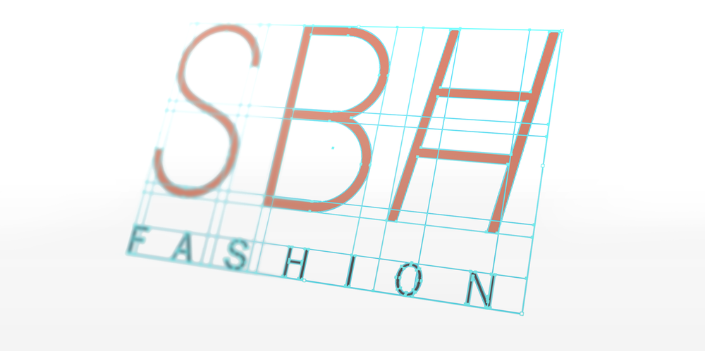SBH Fashion Logo Brand Design NYC