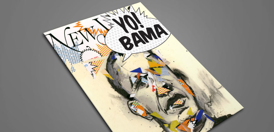 Obama Illustration Portrait Art
