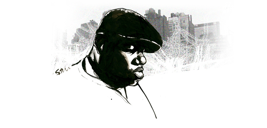 Biggie Illustration Portrait