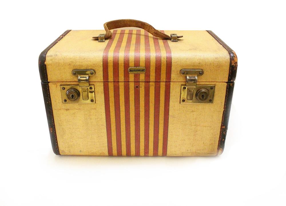 Luxury luggage illustration design