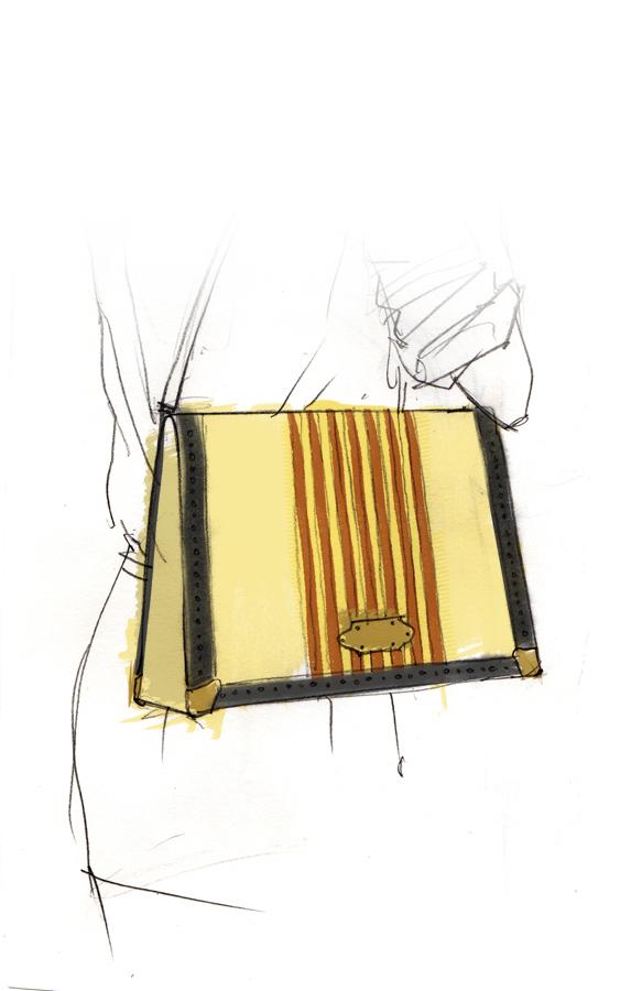 badass illustration accessories bag