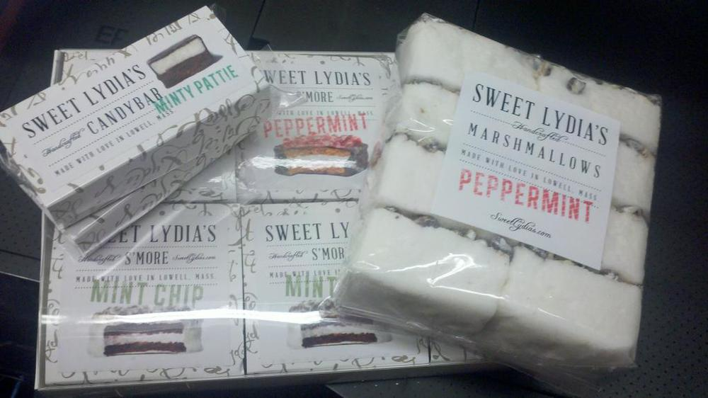 Sweet Lydia's New Packaging