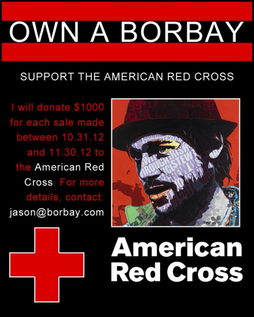 Buy a Borbay Support-The American Red Cross