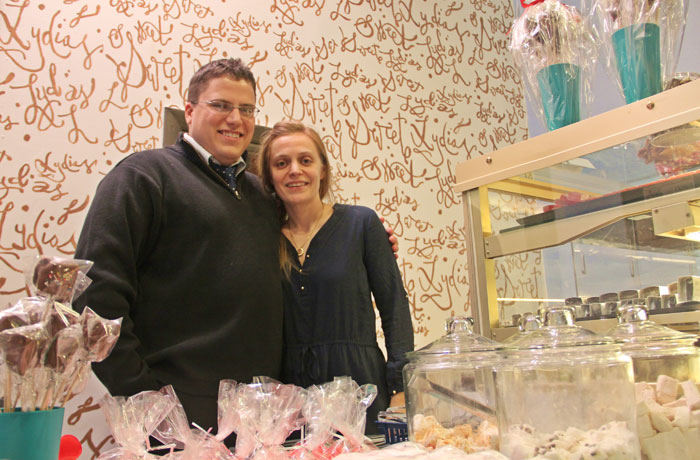 Owner Lydia Blanchard and her husband Craig!