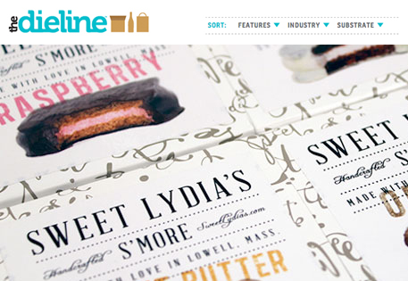 Featured on  thedieline.com