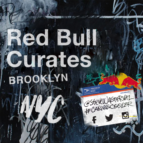 Red Bull partners w/ Steve Wasterval in the Canvas Cooler NYC