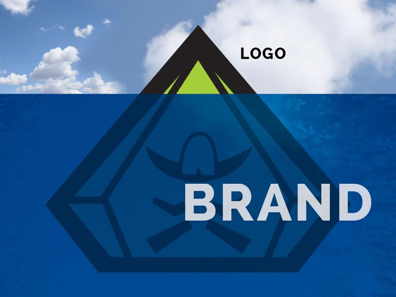 logo versus brand worstofall design