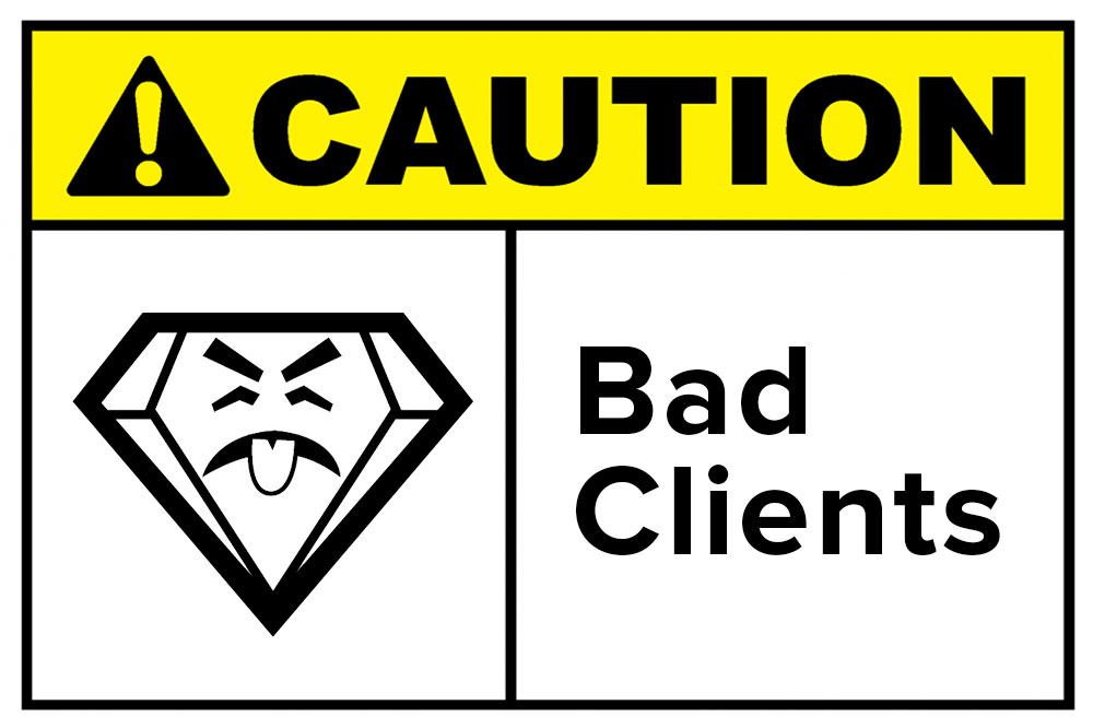 badass brands eliminate bad clients