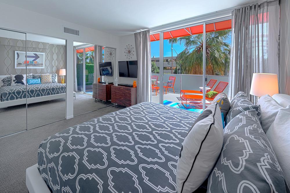 #217 Bedroom 2 Balcony and closet