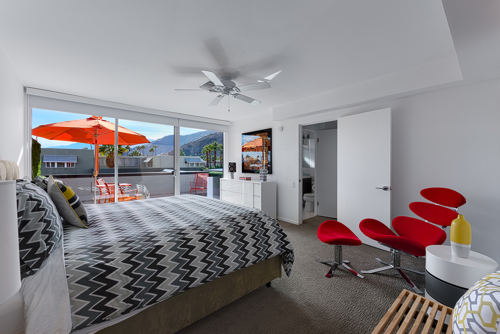 #220 Bedroom and Balcony