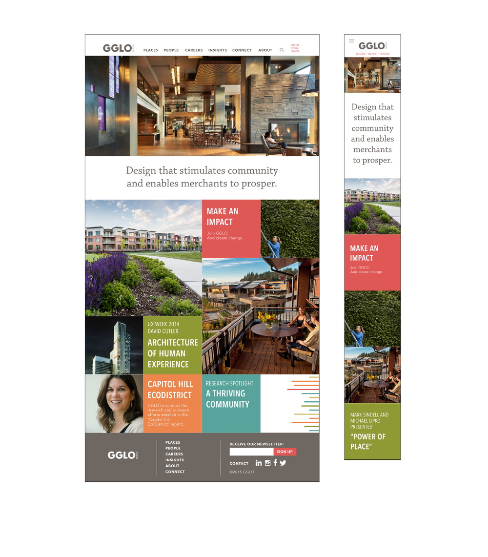 Worked With Incite Partners On The Website Map And Responsive Design 10 Pages Was Based A Recent Rebrand Of Firm
