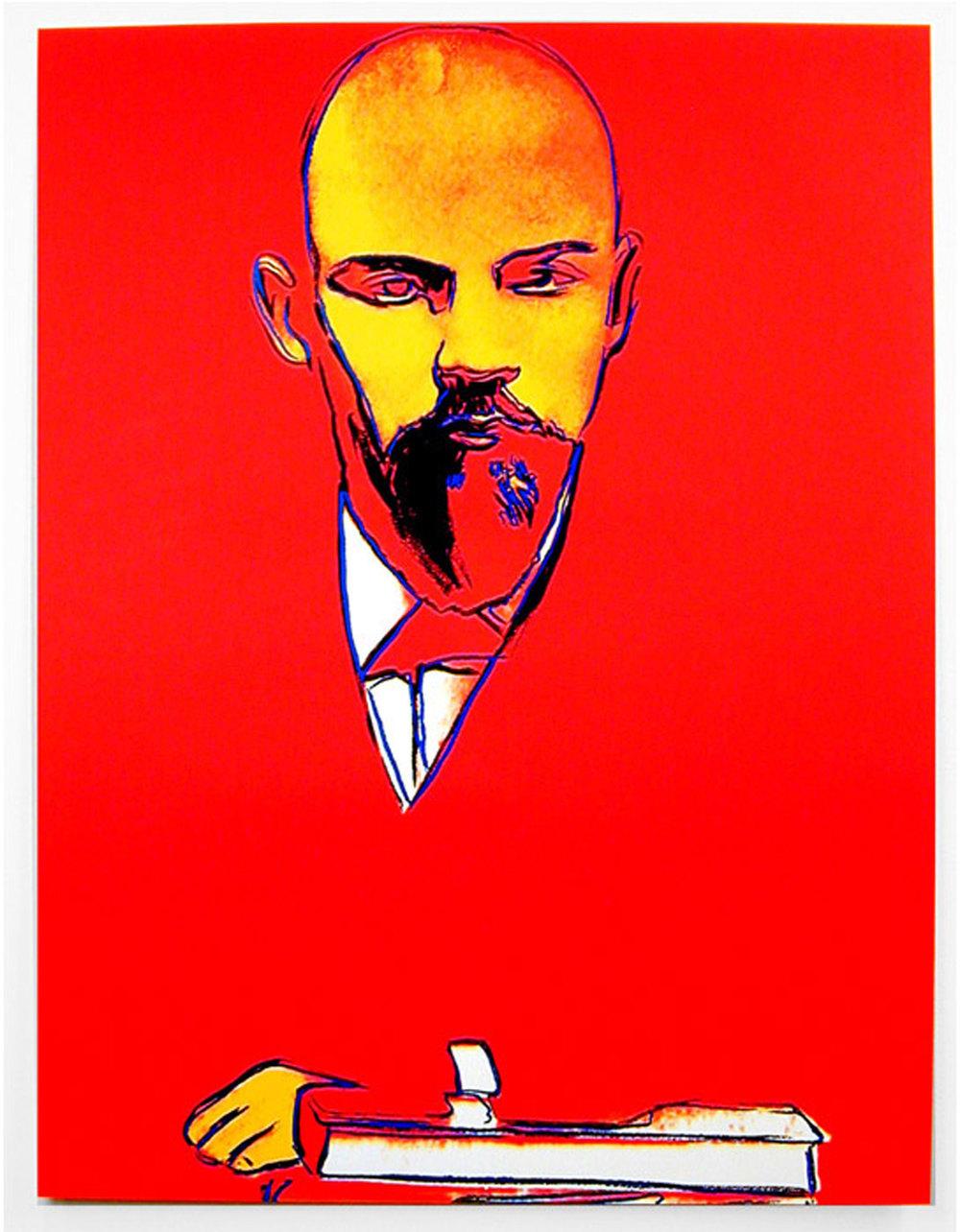 Andy-Warhol_-_Red-Lenin