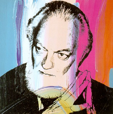 image: Paul Jenkins by Andy Warhol