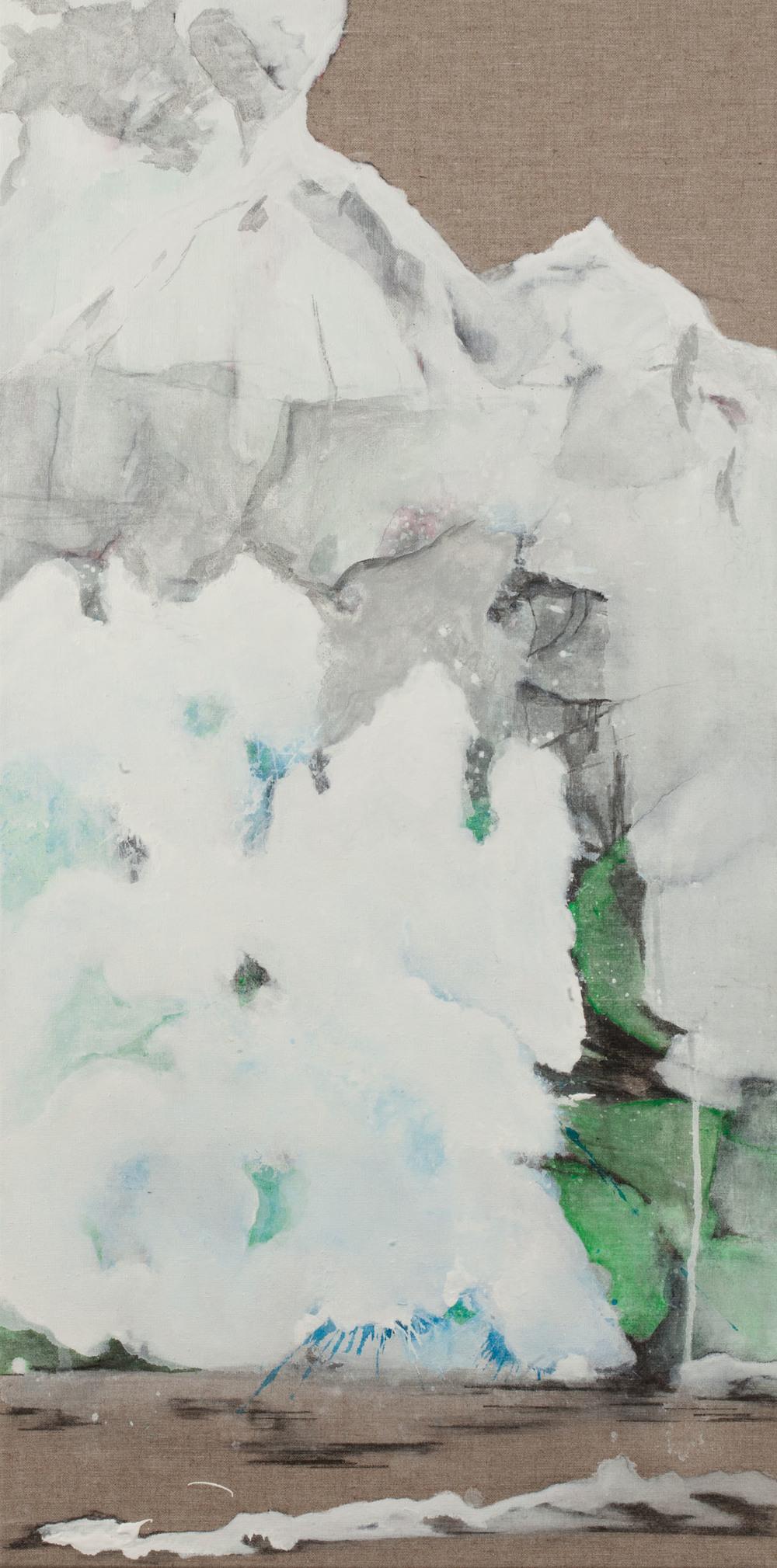 Colette Murphy_-_Glacier Face_oil on linen_60 x 30cm.jpg