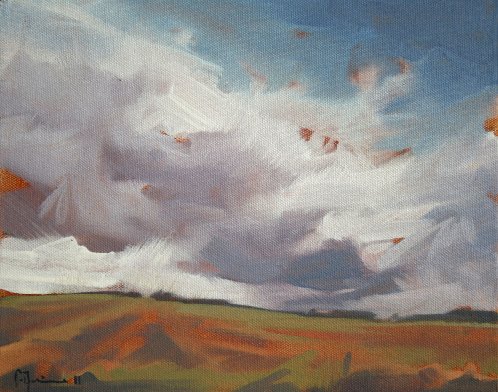 Tracey Quinn_2011_Study Cornfield_oil on canvas_20 x 25cm.jpg