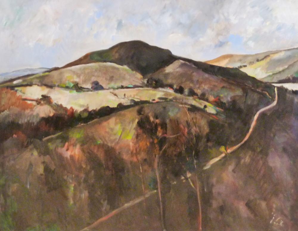 Peter Collis_-_Road Down to Lough Tay_70 x 90cm.jpg