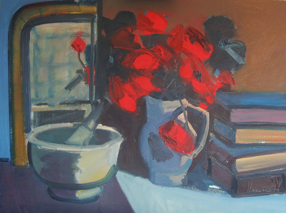 Brian Ballard_-_Poppies with Books_60 x 81cm.jpg