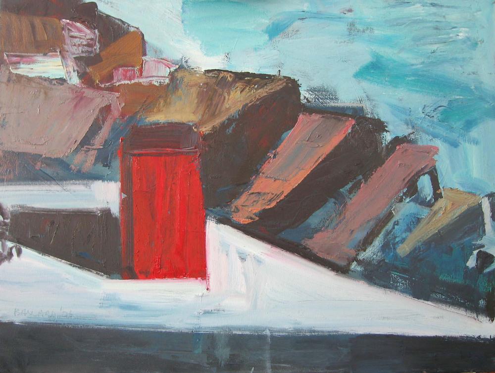 Brian Ballard_-_Red Box and Sea_60 x 80cm.jpg