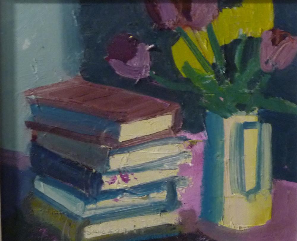 Brian Ballard_-_Tulips with Books_26 x 30cm.jpg